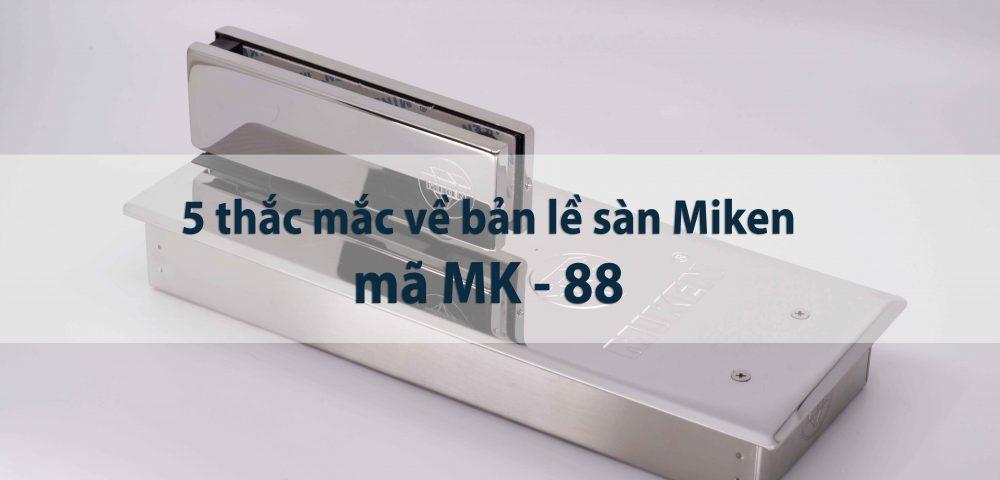 Bản lề sàn mk88