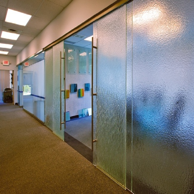 cửa lùa 2 cánh phòng làm việc